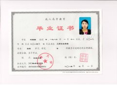 河南大学毕业证